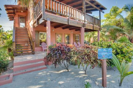 Front of Coral Caye Villa, Belize